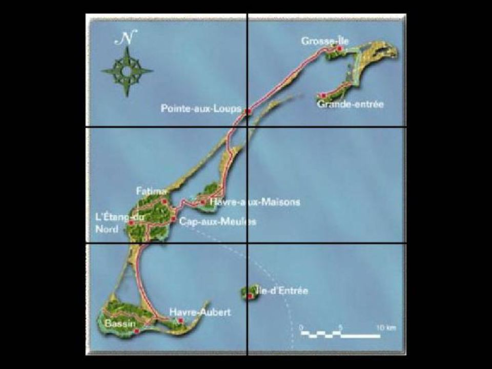L'archipel comprend une douzaine d'îles, dont six sont reliées entre elles par d'étroites dunes de sable. Ce sont, du nord au sud, lîle de la Grande E