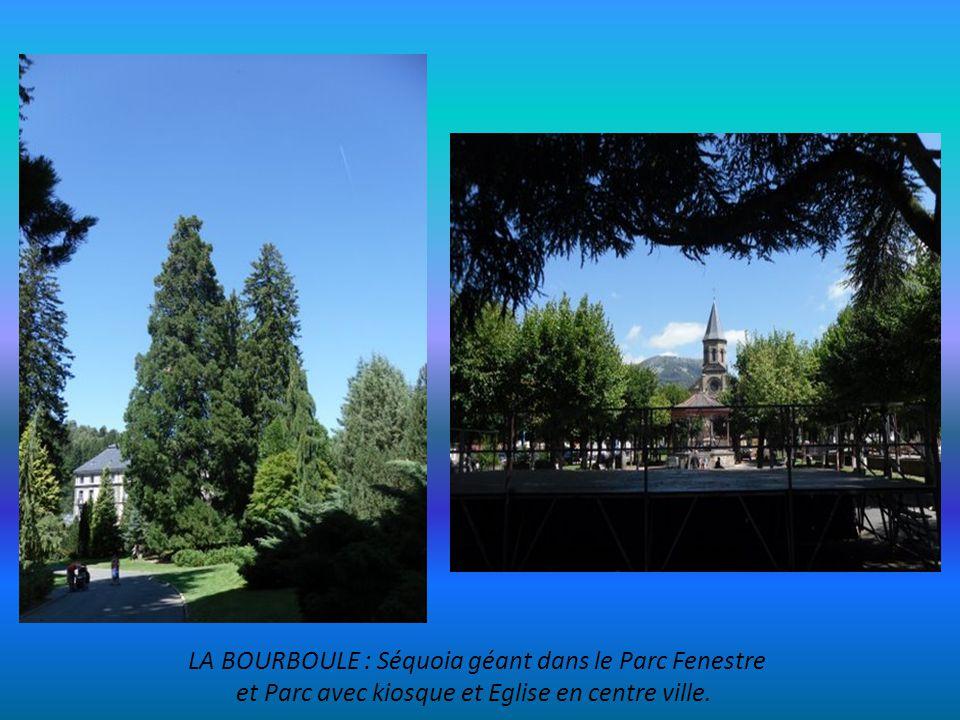 LA BOURBOULE Activités Thermales au bord de la Dordogne