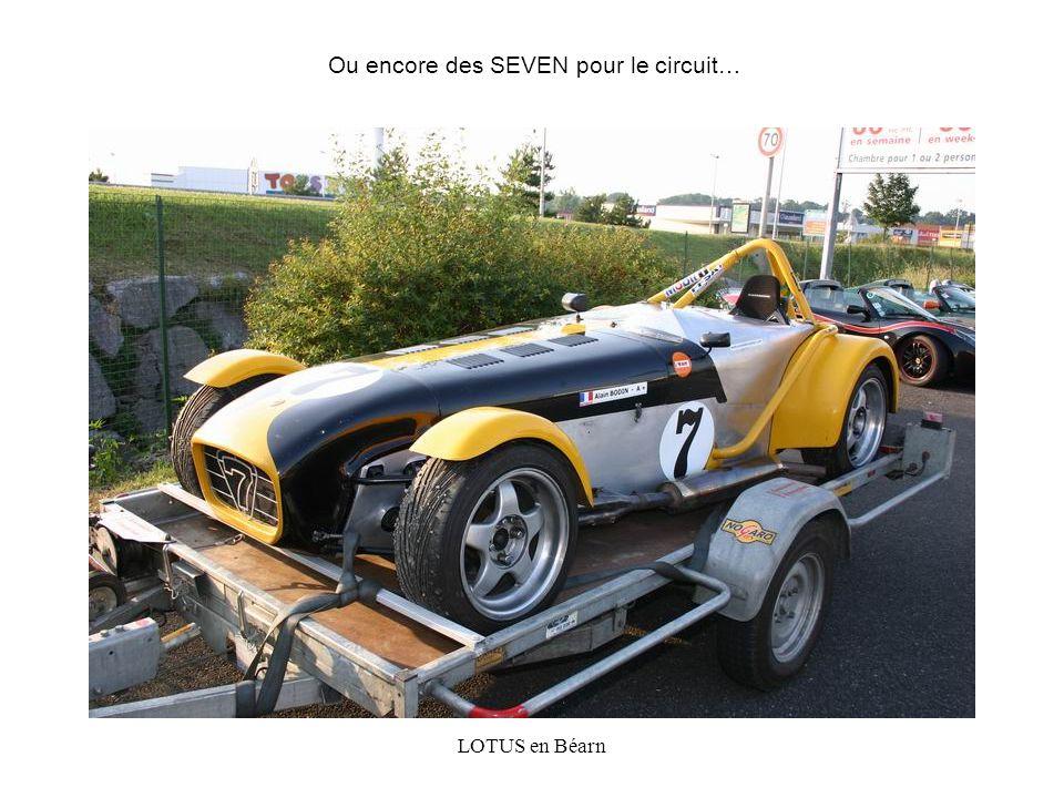 LOTUS en Béarn Ou encore des SEVEN pour le circuit…