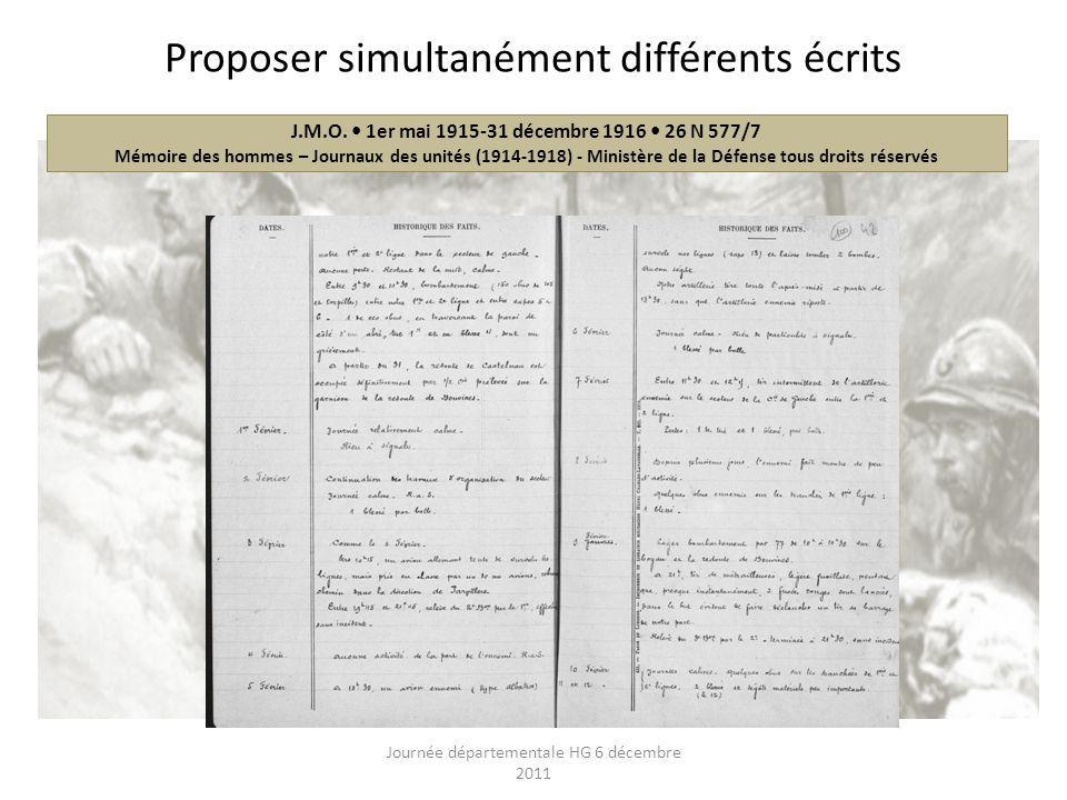 J.M.O. 1er mai 1915-31 décembre 1916 26 N 577/7 Mémoire des hommes – Journaux des unités (1914-1918) - Ministère de la Défense tous droits réservés Pr