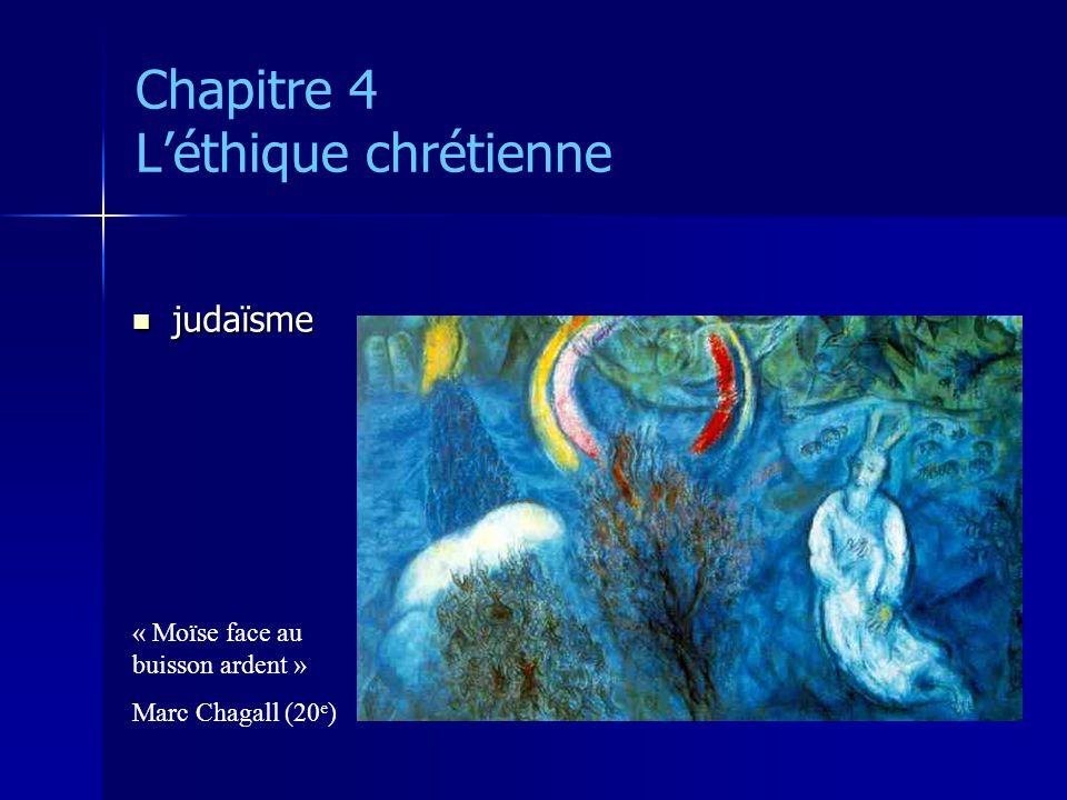 Chapitre 4 Léthique chrétienne Jésus Christ Jésus Christ christos = oint (huile sainte) « Crucifixion » Fra Angelico (15 e )