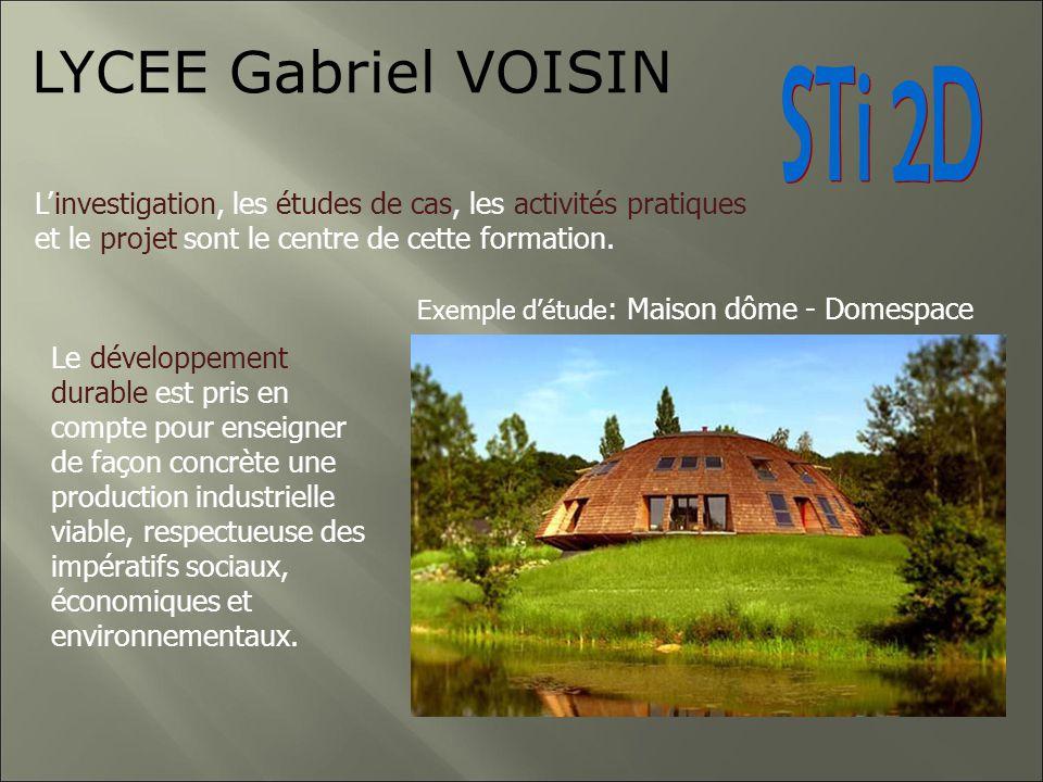 LYCEE Gabriel VOISIN Des enseignements généraux et transversaux Lenseignement général est commun à toutes les spécialités.