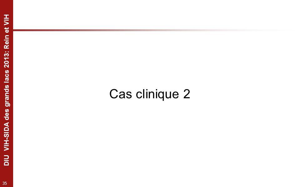 35 DIU VIH-SIDA des grands lacs 2013: Rein et VIH Cas clinique 2