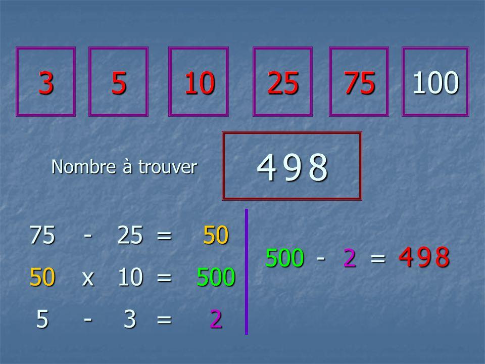 35102575100 4 9 84 9 84 9 84 9 8 75-25=50 50x10=500 500 2 -= 4 9 84 9 84 9 84 9 8 5-3=2 35102575