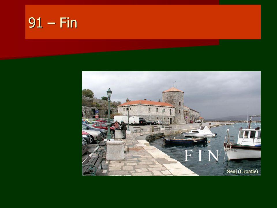 91 – Fin F I N Senj (Croatie)