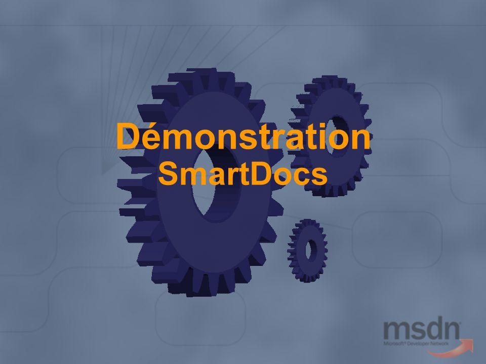 Démonstration SmartDocs