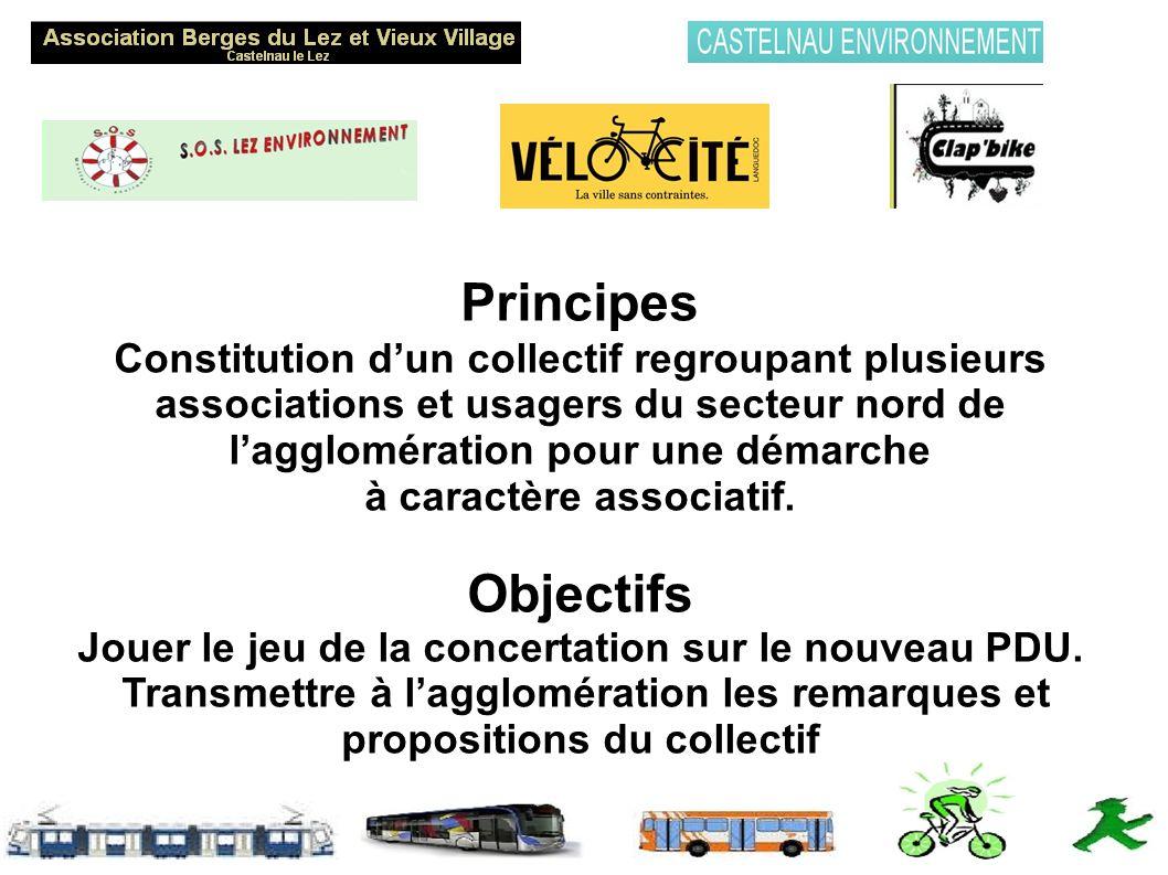Principes Constitution dun collectif regroupant plusieurs associations et usagers du secteur nord de lagglomération pour une démarche à caractère associatif.