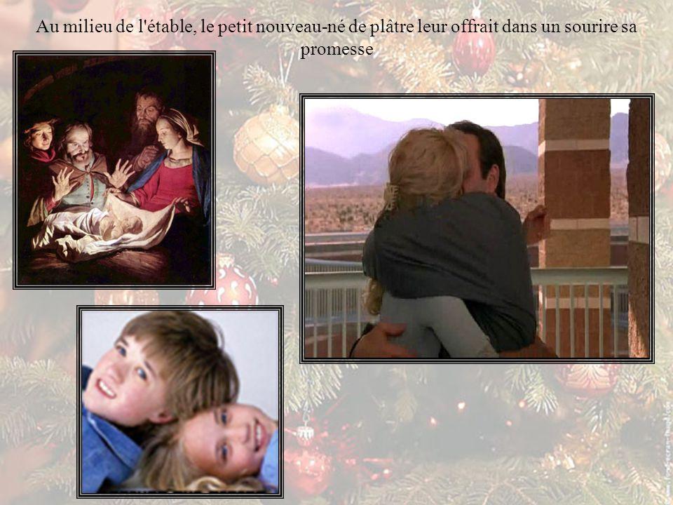 C'était la nuit de Noël. Lavée de toute crainte et d'impatience stérile, l'Espérance de la vie réapparut de nouveau dans leurs cœurs.