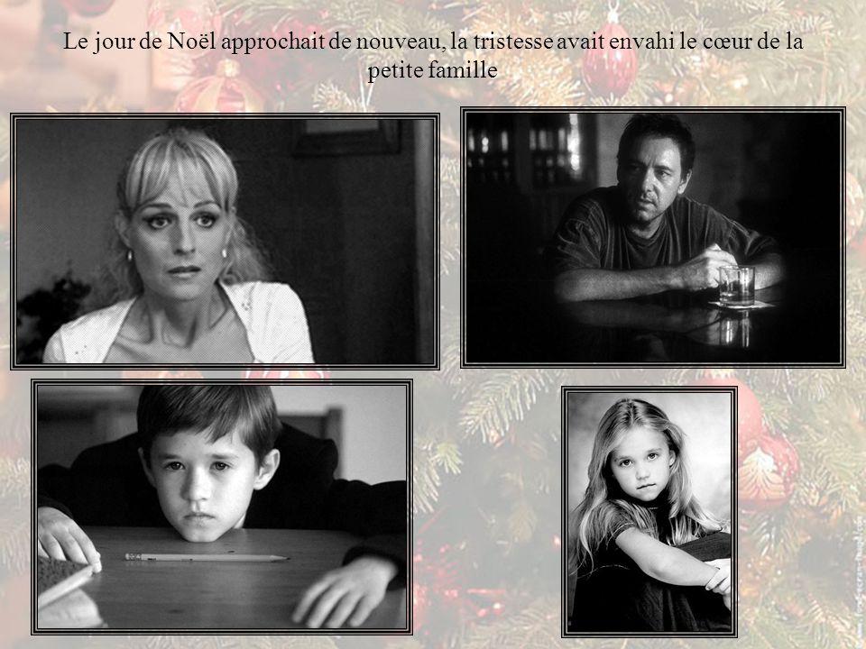 Alors chacun son tour, la petite fille, le petit garçon, le père et la mère, offrit sa clef de vie à la famille...
