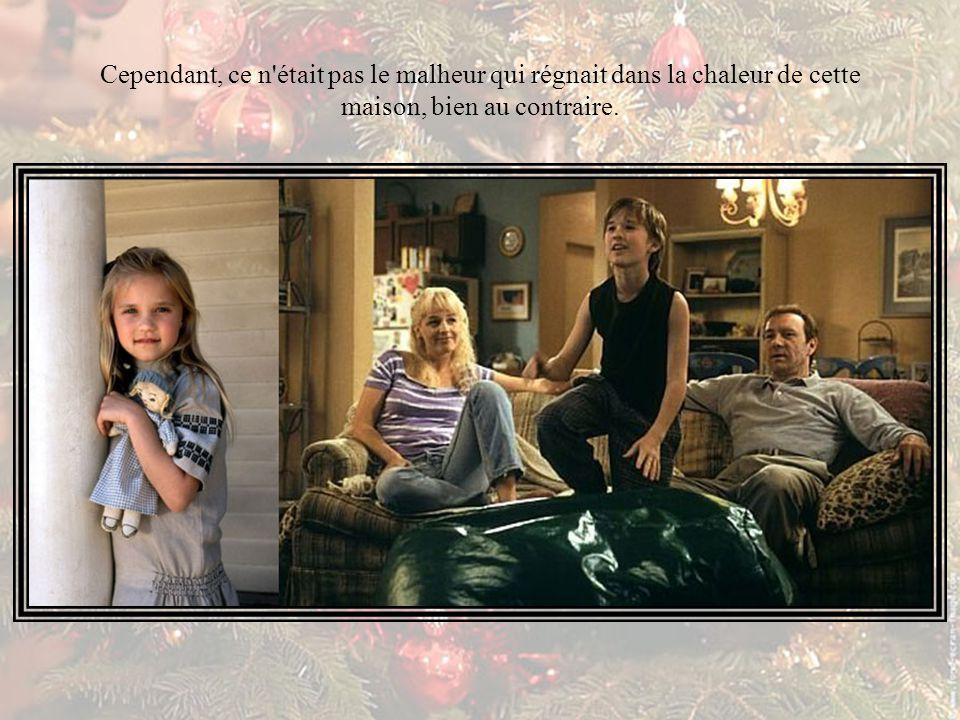 Le jour de Noël approchait de nouveau, la tristesse avait envahi le cœur de la petite famille