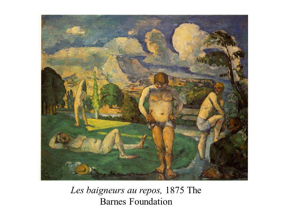 Les baigneurs au repos, 1875 The Barnes Foundation