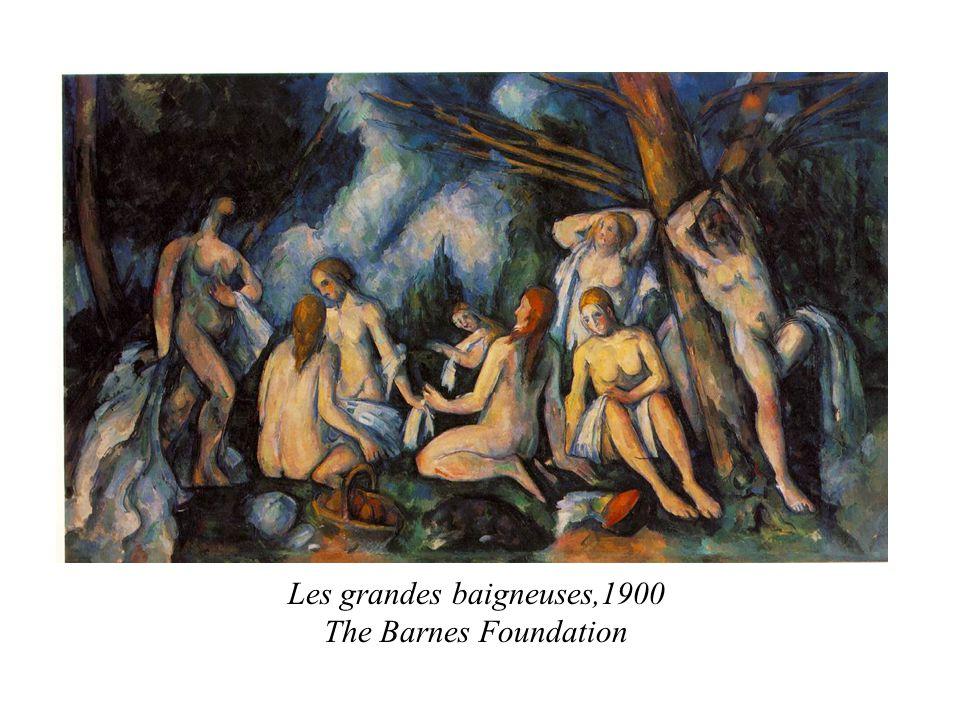 Les grandes baigneuses,1900 The Barnes Foundation