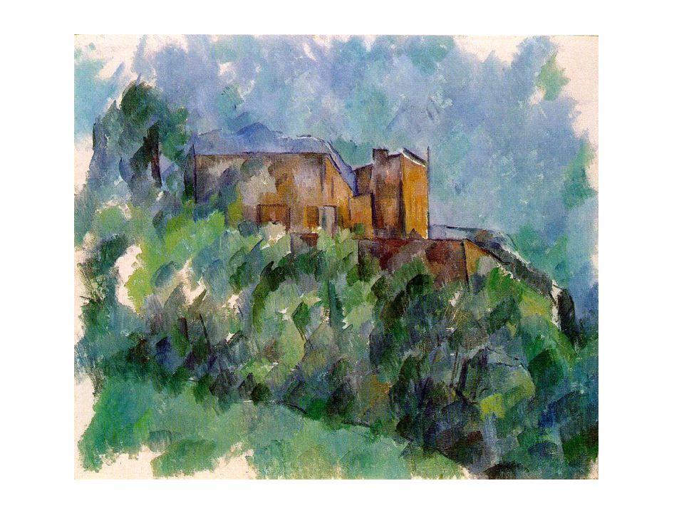 Les sujets favoris A la fin de sa carrière, au retour à Aix, il a commencé à se concentrer aux quelques sujets préférés: les natures mortes, les baigneurs, et Mont Sainte- Victoire.