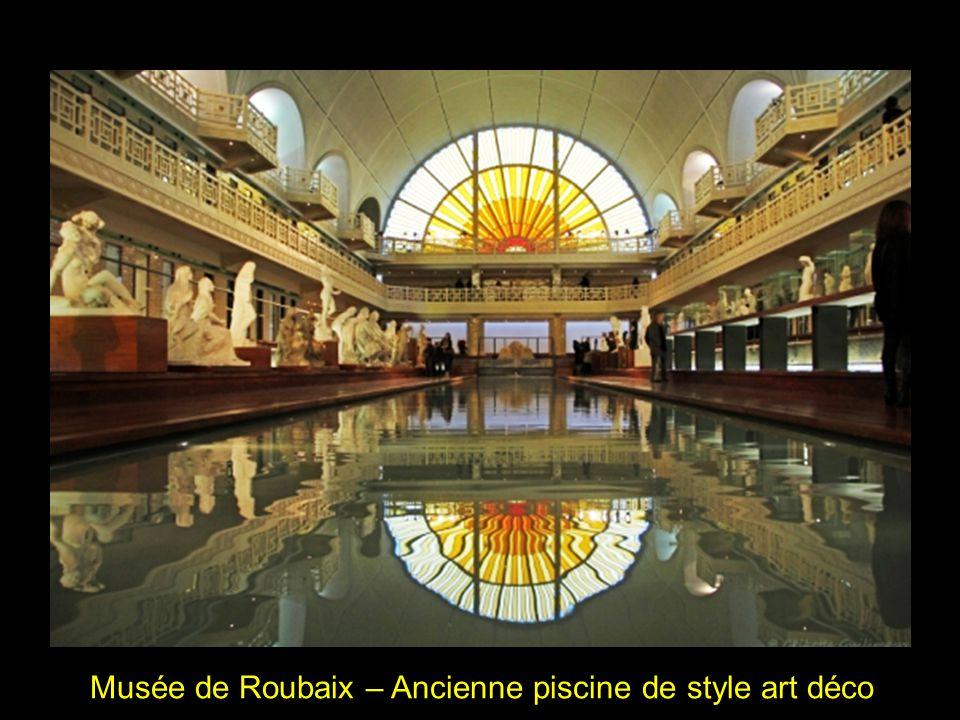 Musée de Roubaix – Ancienne piscine de style art déco
