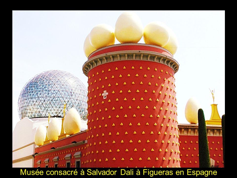 Musée consacré à Salvador Dali à Figueras en Espagne
