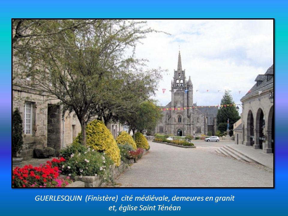 LA GUERCHE de Bretagne (Ille et Vilaine) Maisons anciennes à colombages