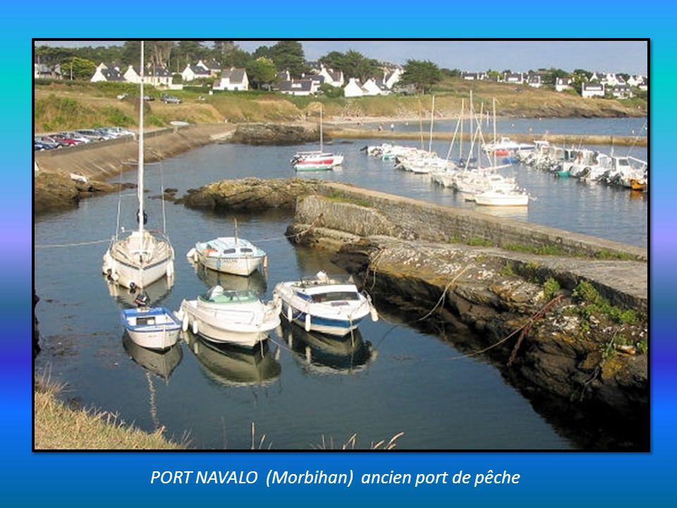 PORT LOUIS (Morbihan) Citadelle de défense de la rade de Lorient Musée de la Marine