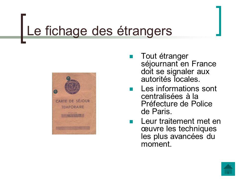 « Encarter » les immigrés Comment fonctionne le système de carte didentité des étrangers instauré à la fin de la Première Guerre Mondiale .