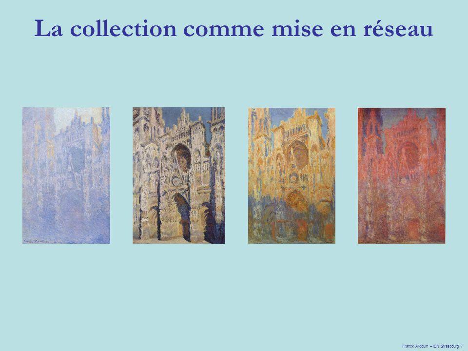 La collection comme mise en réseau Franck Ardouin – IEN Strasbourg 7