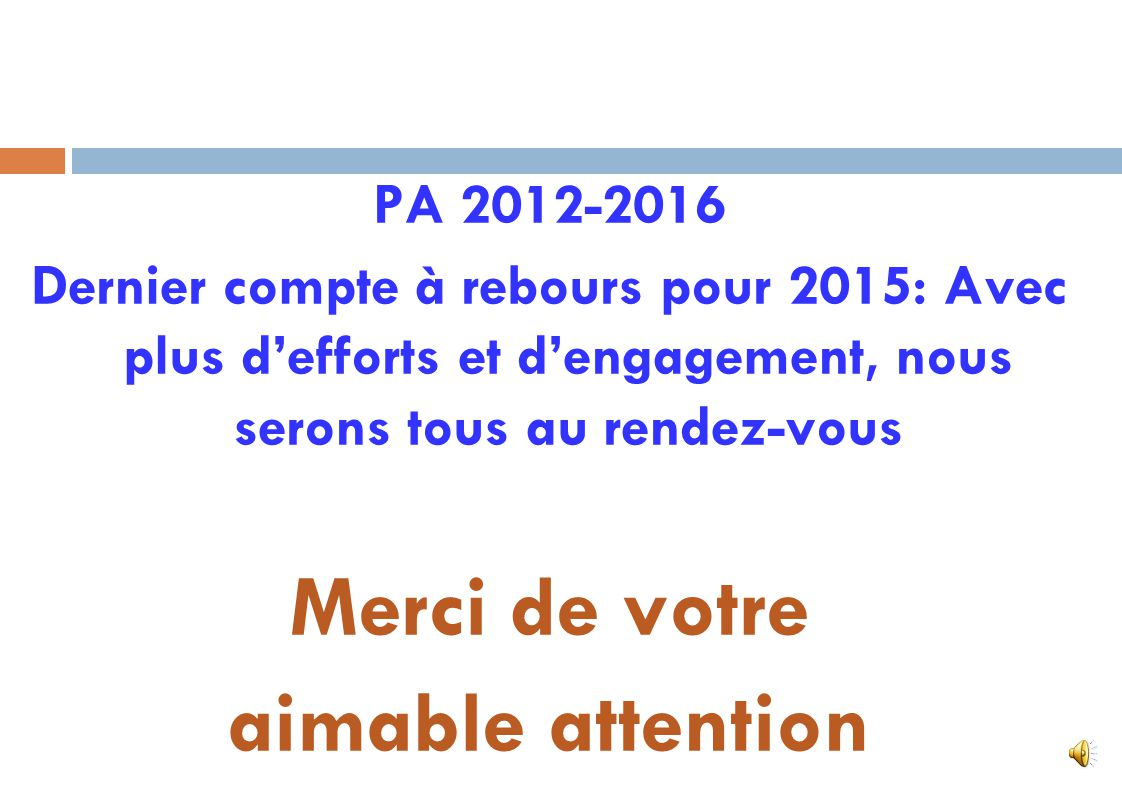 6. Mesures daccompagnement 23. Renforcer la communication autour du PA Elaborer et mettre en œuvre un plan de communication autour du PA en collaborat