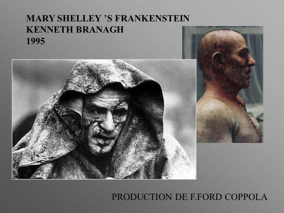 MARY SHELLEY S FRANKENSTEIN KENNETH BRANAGH 1995 PRODUCTION DE F.FORD COPPOLA