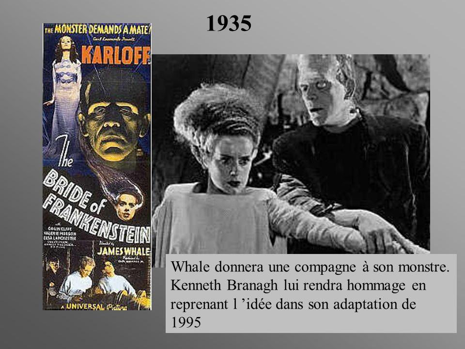 1935 Whale donnera une compagne à son monstre.