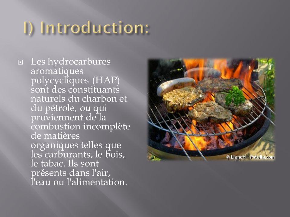 Les hydrocarbures aromatiques polycycliques (HAP) sont des constituants naturels du charbon et du pétrole, ou qui proviennent de la combustion incompl