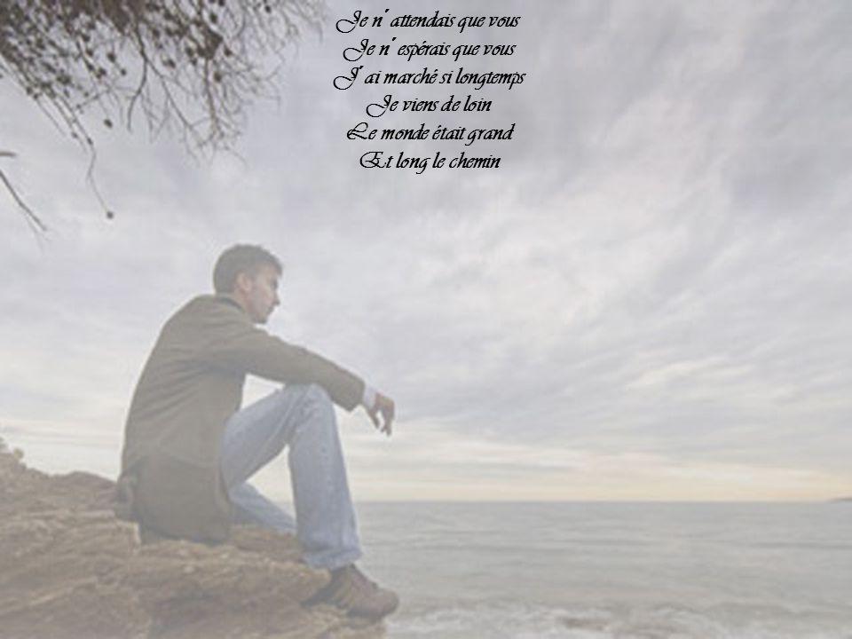 Je n´attendais que vous Nulle autre que vous J´attendais votre voix Vos soupirs Donnez-moi votre air Qu´enfin je respire Vous, vous