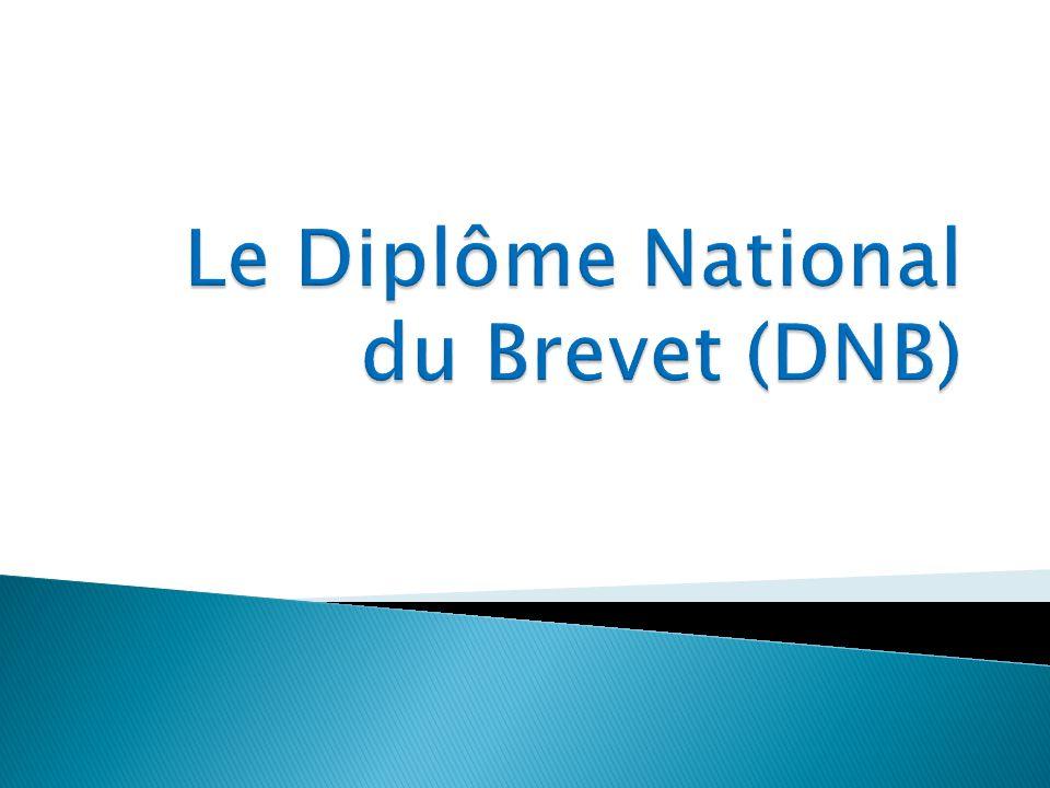 Le diplôme national du brevet évalue les connaissances et les compétences acquises à la fin du collège.