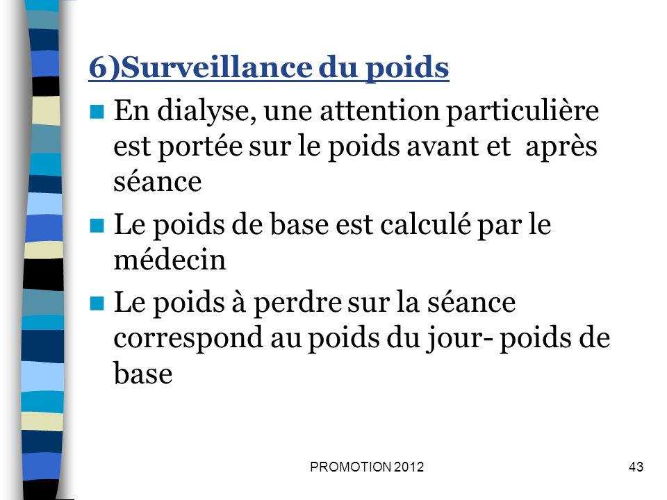 7) Surveillance des cathéters et drains.