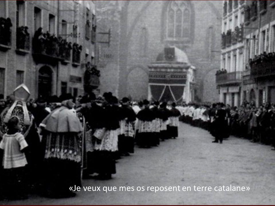«Je veux que mes os reposent en terre catalane»