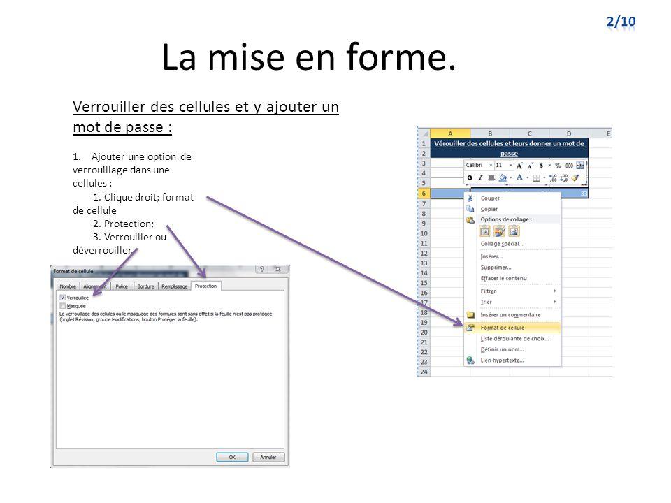 Fonctions de base de données.Commande de si (Suite) : 8.