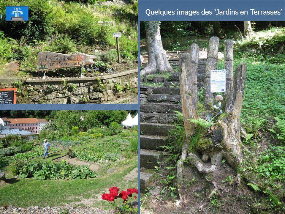Vue depuis Les Jardins en Terrasses.