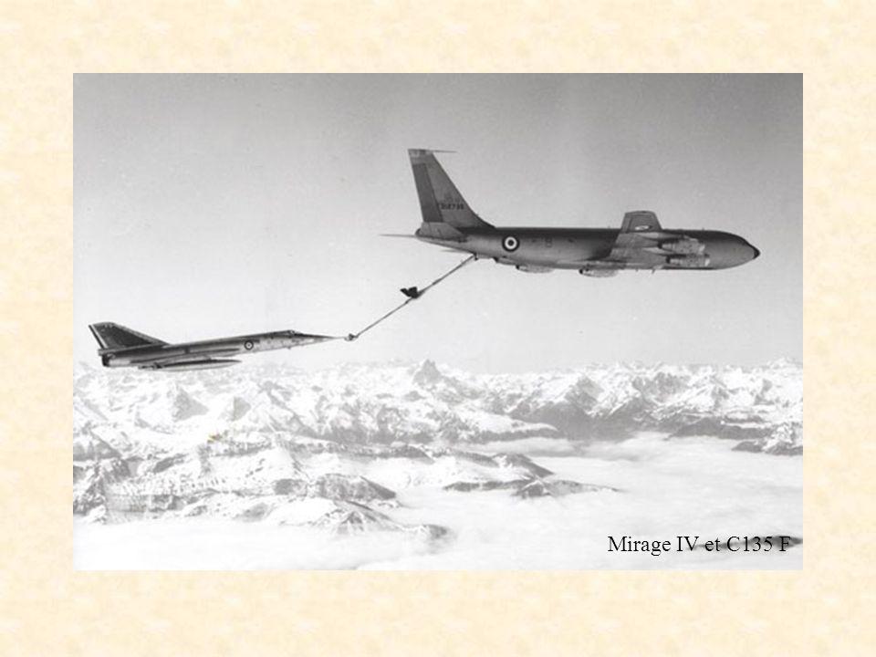 Mirage IV et C135 F