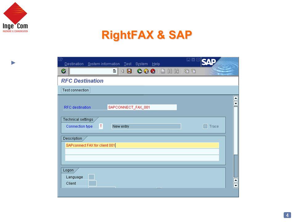 5 RightFAX & SAP