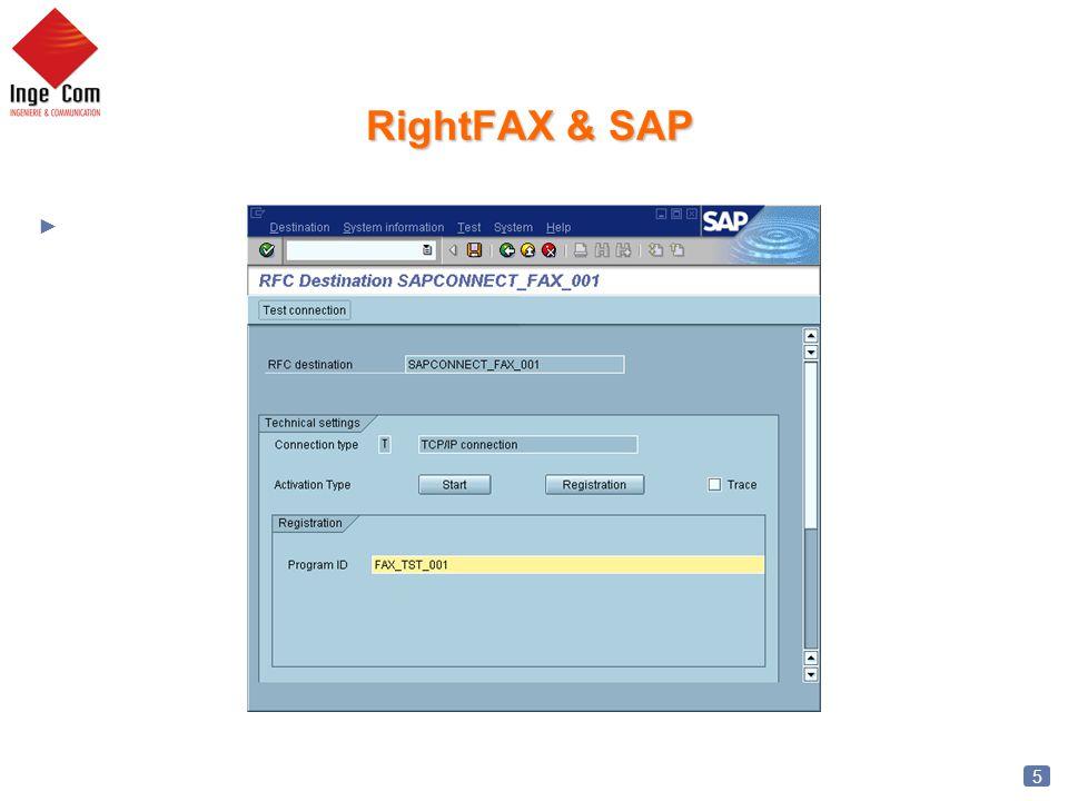 6 RIGHTFAX & SAP