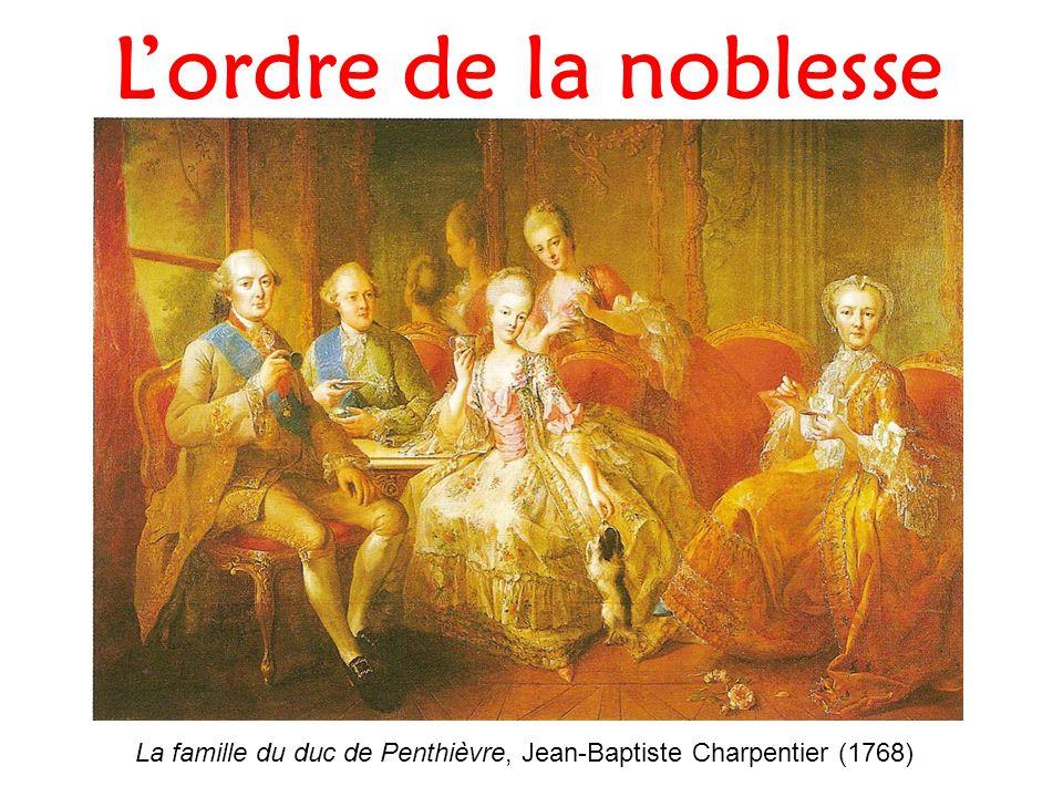 Lordre de la noblesse La famille du duc de Penthièvre, Jean-Baptiste Charpentier (1768)