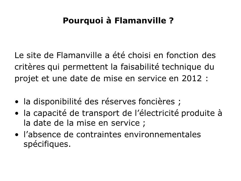 Pourquoi à Flamanville .
