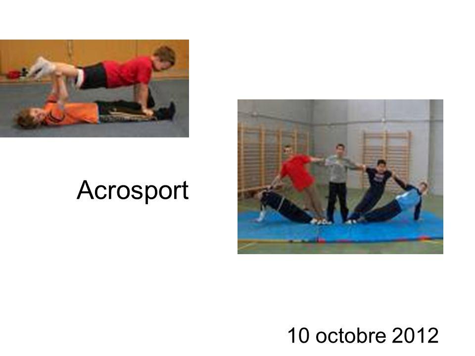 Acrosport 10 octobre 2012