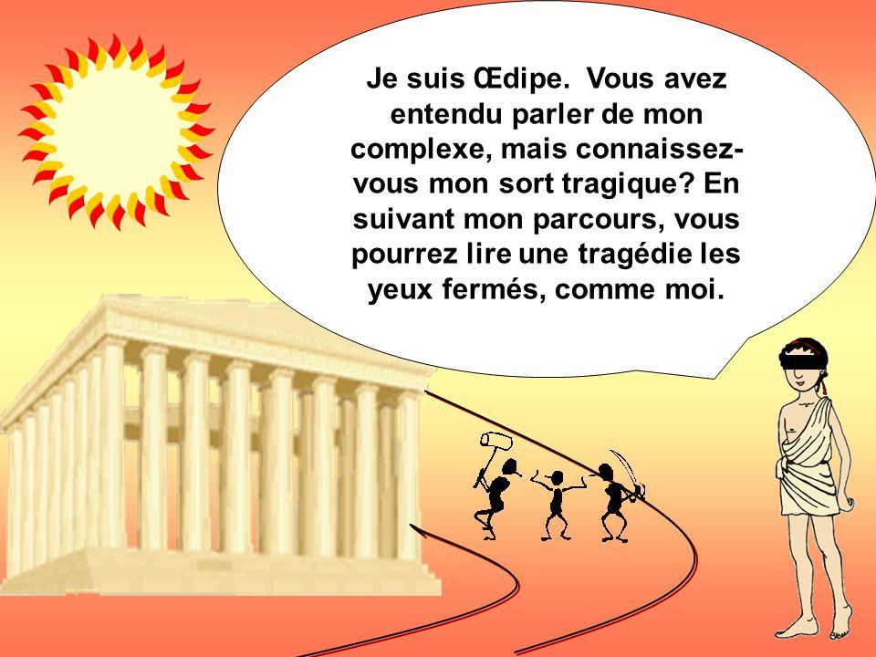 Le modèle de la tragédie classique Œdipe devant le sphinx par Ingres Zzzzzzz zzzzz….