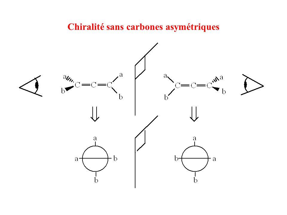 Chiralité sans carbones asymétriques