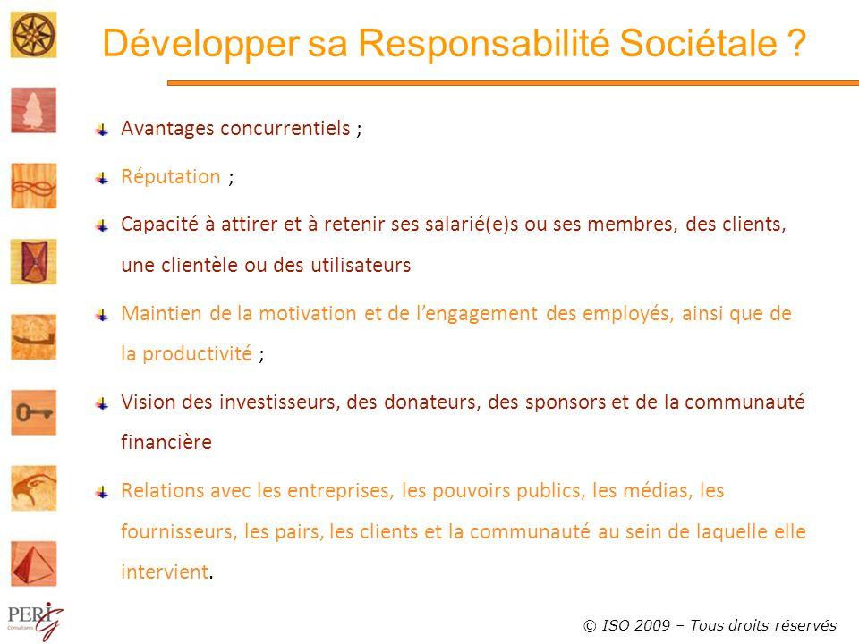 Développer sa Responsabilité Sociétale .