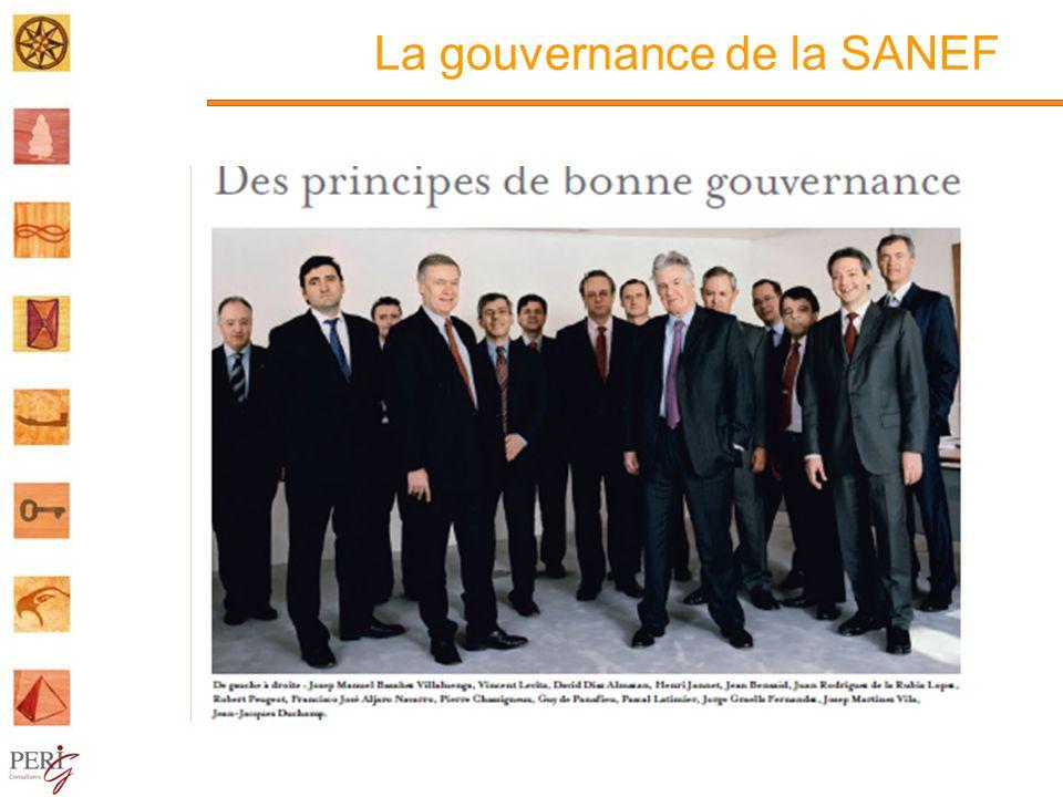 La gouvernance de la SANEF
