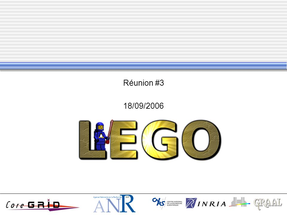 Réunion #3 18/09/2006