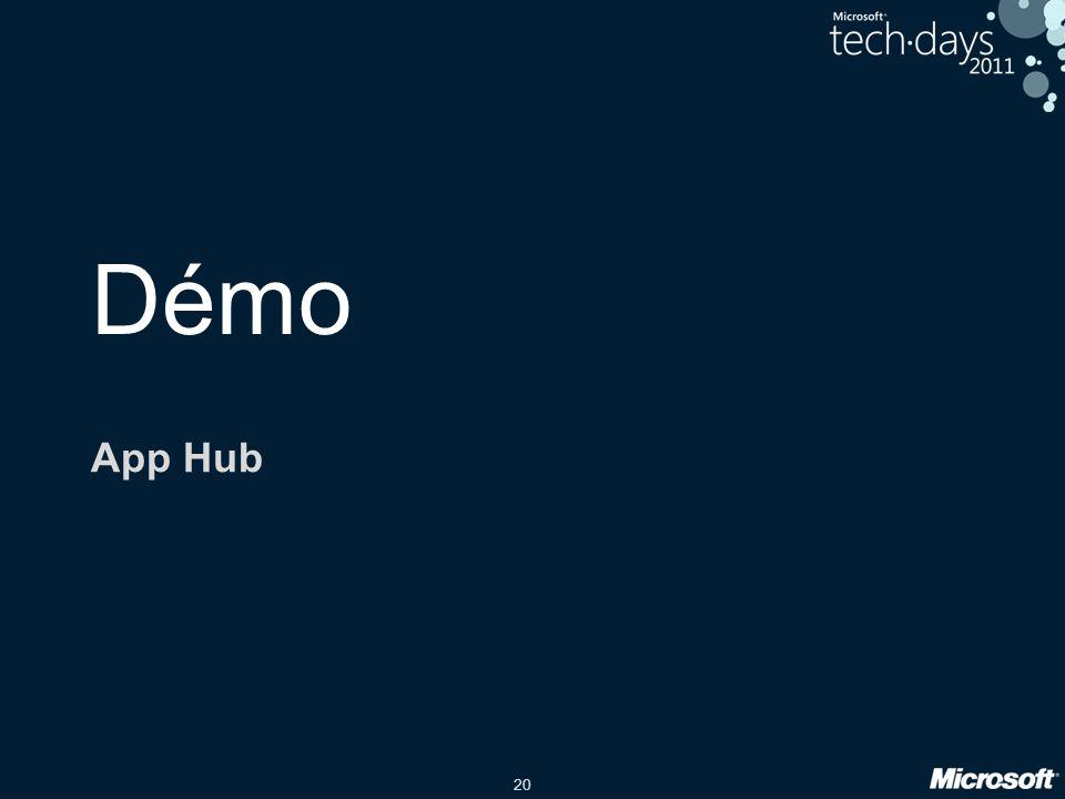 20 Démo App Hub