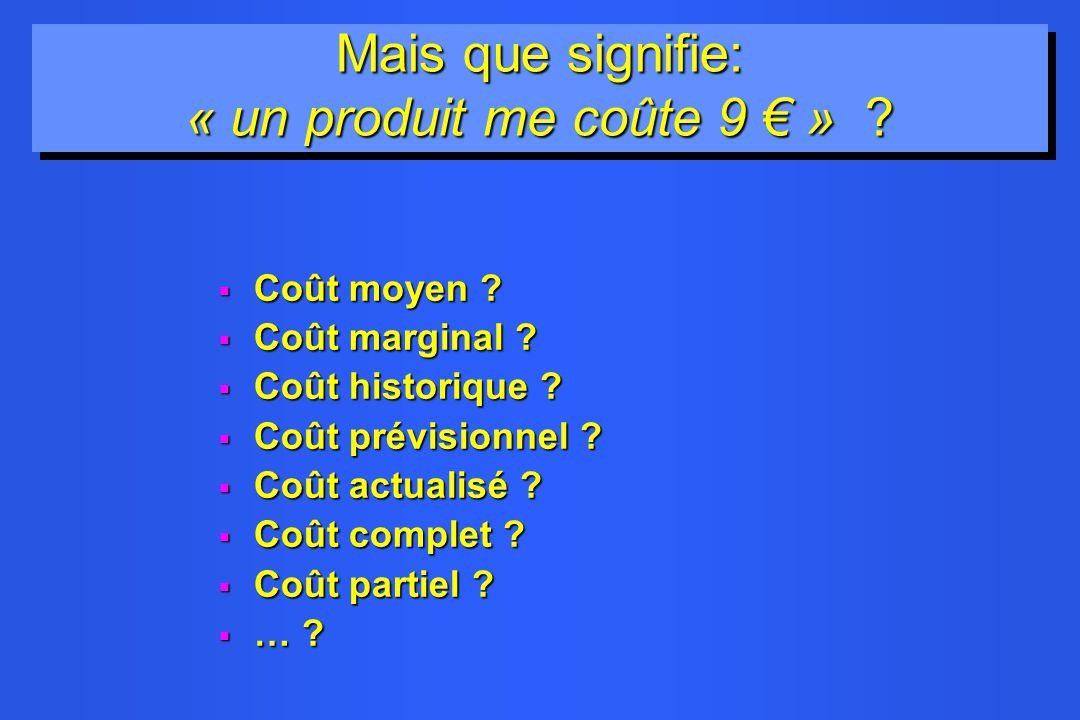 La Fable d Auguste Detoeuf : Je me rends au marché et jachète : –5 Kg de choux pour 10,00 –5 Kg de carottes pour 20,00 –le coût de l aller-retour en autobus est de 3.