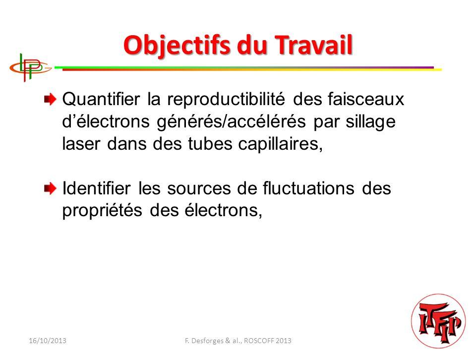 16/10/2013F. Desforges & al., ROSCOFF 2013 Merci pour votre attention Des questions?