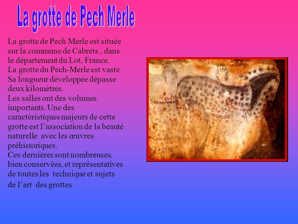 La grotte de Lascaux se trouve en Dordogne et représente un bestiaire en cavalcade, peint par les hommes du Paléolithique supérieur il y a environ 170