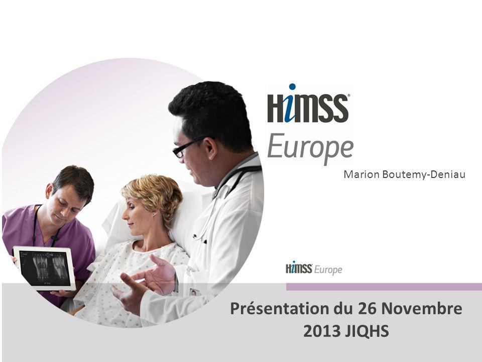Marion Boutemy-Deniau Présentation du 26 Novembre 2013 JIQHS