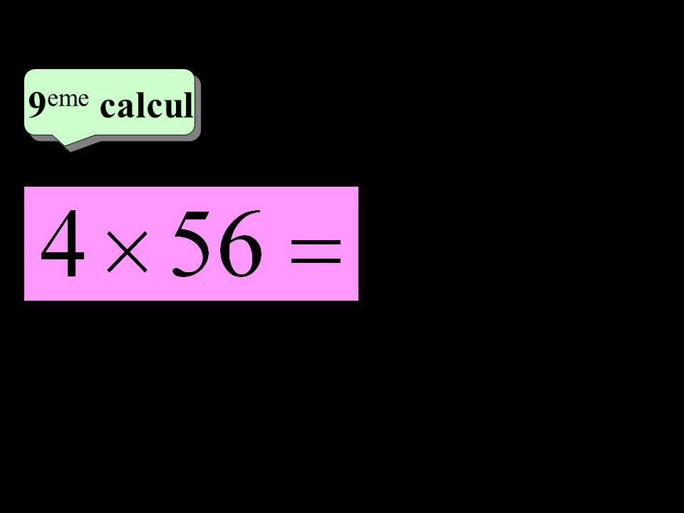 –1–1 5 eme calcul 5 eme calcul 9 eme calcul